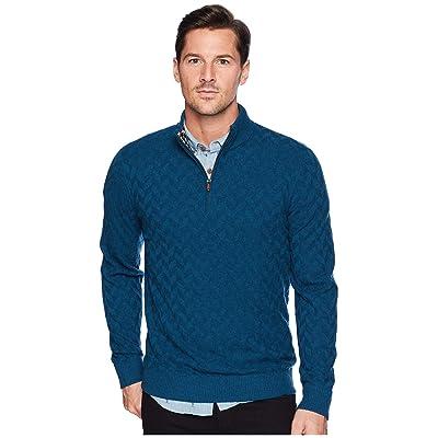 Robert Graham Rowley Sweater (Teal) Men