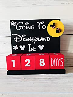 Countdown Calendar For Disneyland Vacation