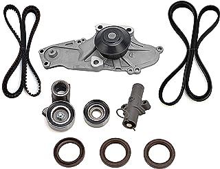 Timing Belt & Water Pump Kit - Compatible with Honda, Acura & Saturn Vehicles - Accord, Odyssey, Pilot, TL, RL, MDX, Vue 3.5, 3.0, 3.7 - Replaces TKH002, TCKWP329, 19200-RDM-A02 19200-RDV-J01