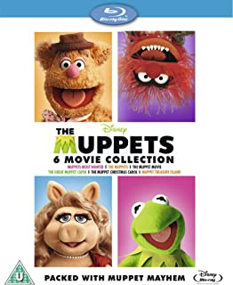 Best The Muppets Bumper 6 Movie Collection [Blu-ray] [Region Free] Review