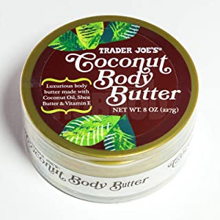 Trader Joes Coconut Body Butter 8 Oz. (00501309)