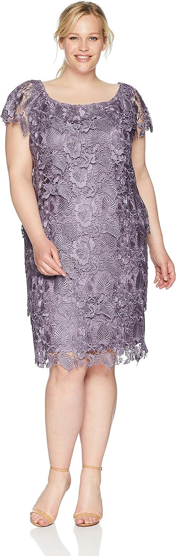 Emma Street Women's Tiered Lace Dress