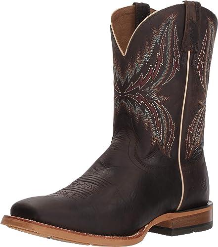 Ariat - Chaussures Arena Western Western Arena Rebound Hommes, 43 43 W EU, Branding Iron Brangus Dark Desert  vous rendre satisfait