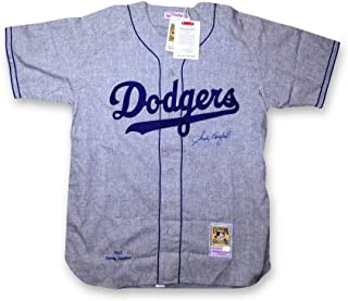 Sandy Koufax Signed Autographed 1955 Mitchell & Ness Dodgers Jersey Online COA