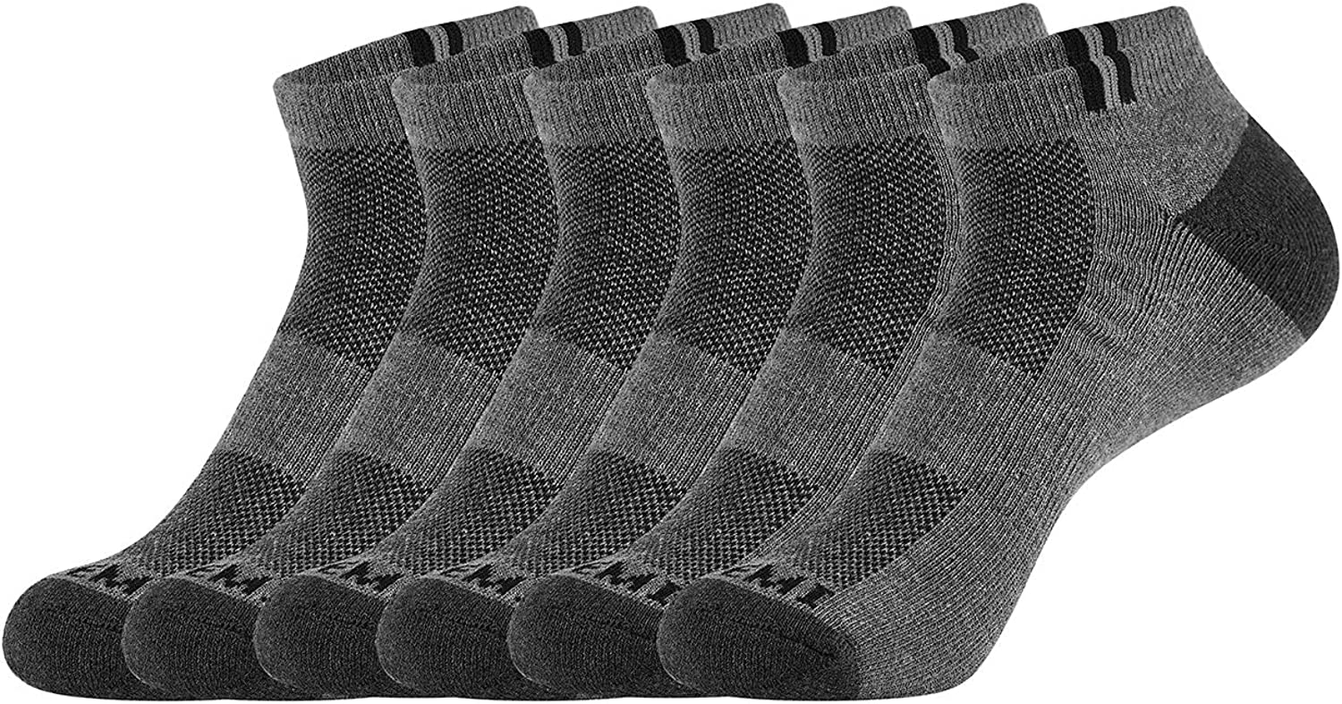 Max 62% OFF Tatemi 2021 6-Pack Athletic Running Socks Me Low-Top Sports for