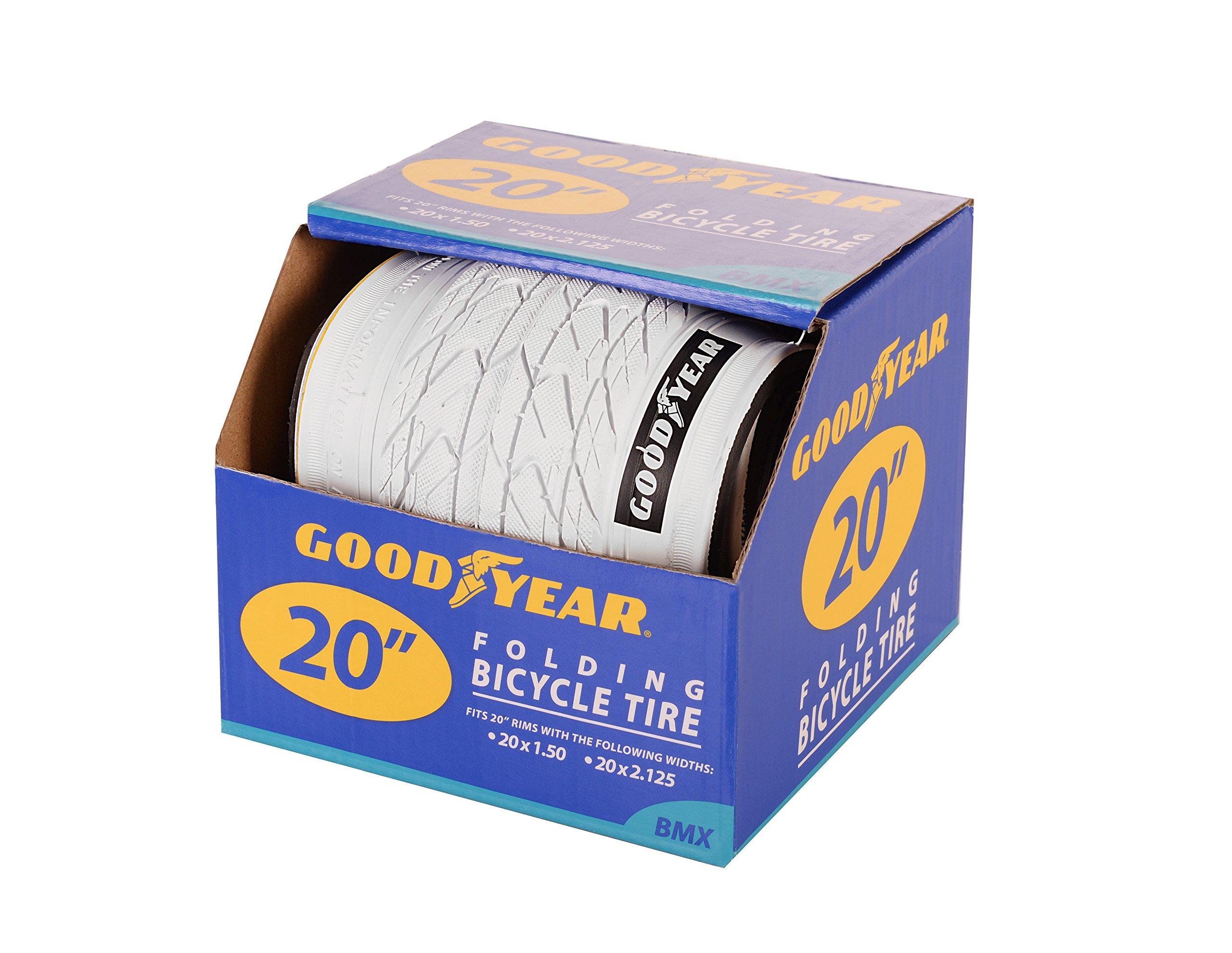 "Goodyear Folding Bead BMX Bike Tire, 20"" x 2.125"""
