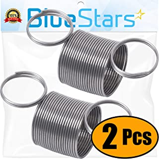 Ultra Durable W10400895 Washer Suspension Spring Replacement Part by Blue Stars - Exact Fit for Whirlpool & Kenmore Washers - Replaces W10348658, W10400895VP - Pack of 2