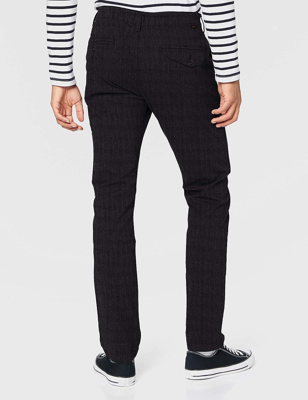 Lee Slim Chino Pantalon Homme Pewter Check