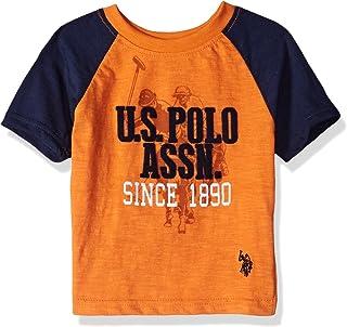 U.S. Polo Assn.............. Boys' Crew Neck Iconic Graphic Logo T-Shirt