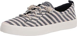 حذاء رياضي للنساء Crest Vibe من Sperry ، لون الشوفان/أزرق، مقاس 7 أمريكي