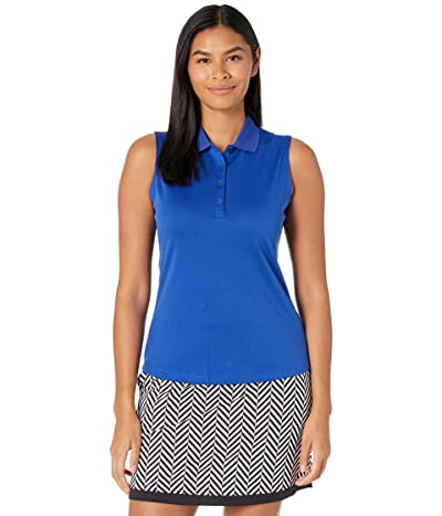 Callaway Sleeveless Essential Solid Knit Polo