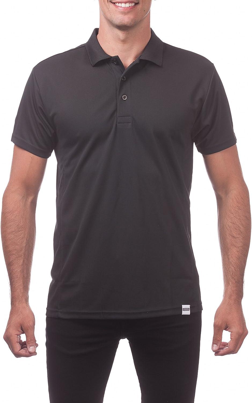 Pro Club Men's Performance Drypro Short sale 2021 model Polo Sleeve