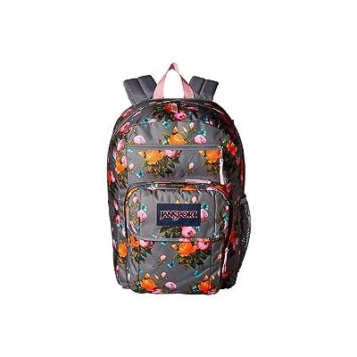 JanSport Digital Student (Sunrise Bouquet Grey) Backpack Bags