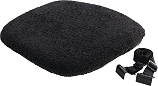 Diamond Plate Gel/Memory Foam Motorcycle Seat Cushion, Durable Thermoplastic Elastome Construction for Reliable Comfort
