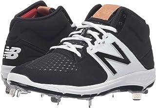 (ニューバランス) New Balance メンズ野球ベースボールシューズ?靴 M3000v3 Black/White 9 (27cm) D - Medium