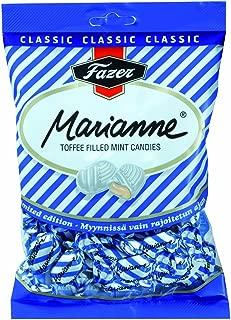 Fazer Marianne Toffee Filled Mint Candies - Made in Finland - 220 g (7.8 oz)