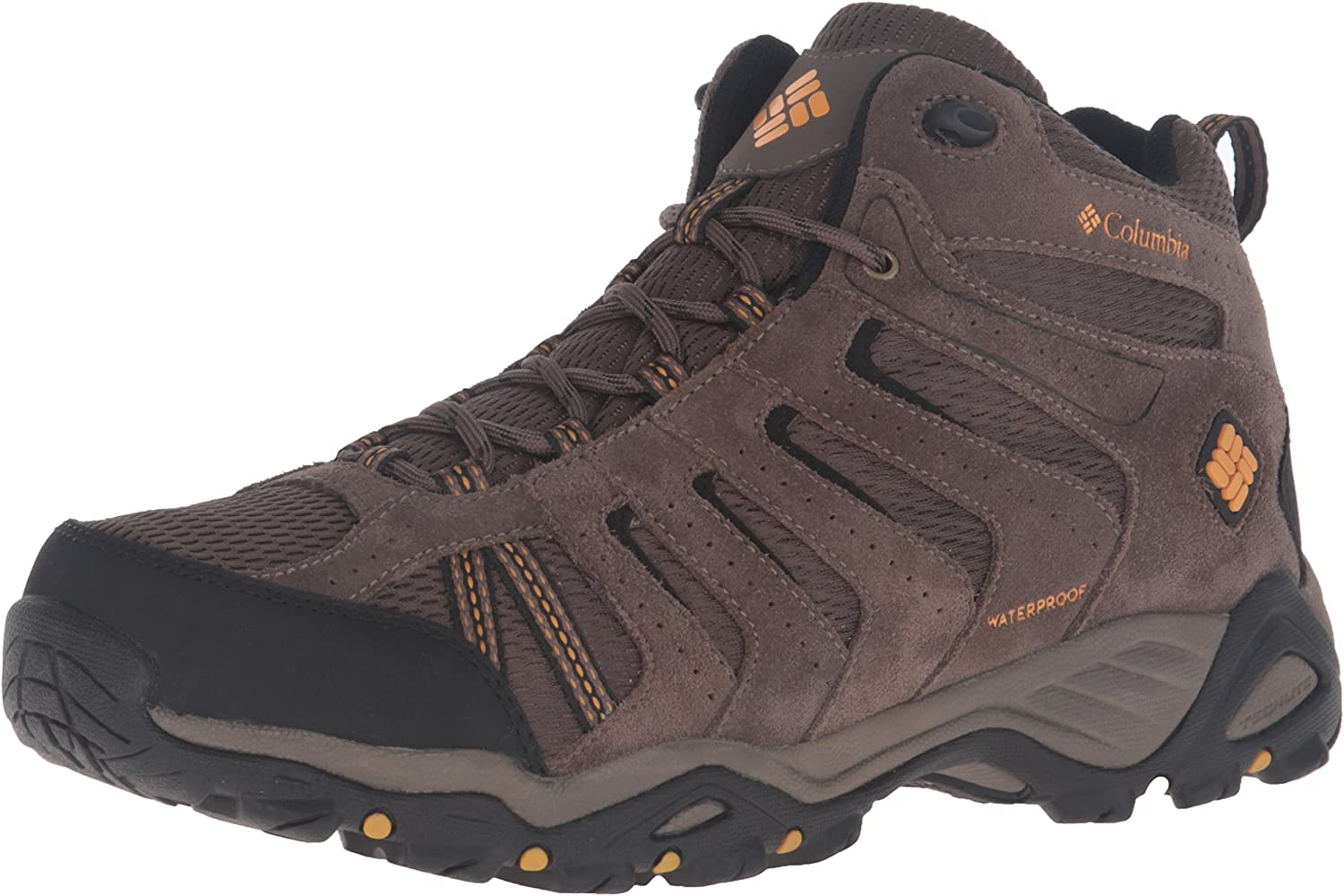 Columbia Herren North Plains Ii Wp Mid Trekking- & Wanderhalbschuhe