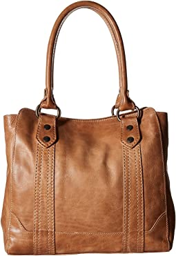 f0c4ec7091e4af Frye sylvia tote smoke tumbled oiled leather | Shipped Free at Zappos
