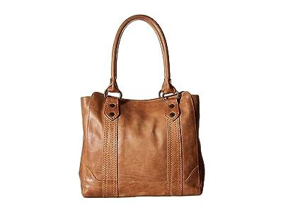 Frye Melissa Tote (Beige) Tote Handbags