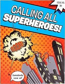 superhero and villain party invitations