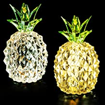 Minfuxin Pineapple Decor Lights Home Decorations for Living Bed Room Table Arrangement,..