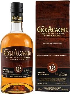 GlenAllachie Speyside Single Malt Whisky 12 Jahre Madeira Wood Finish 0,7 L