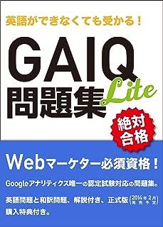 英語ができなくても受かる! GAIQ問題集 Lite版 [2014年1月改訂版完全対応]
