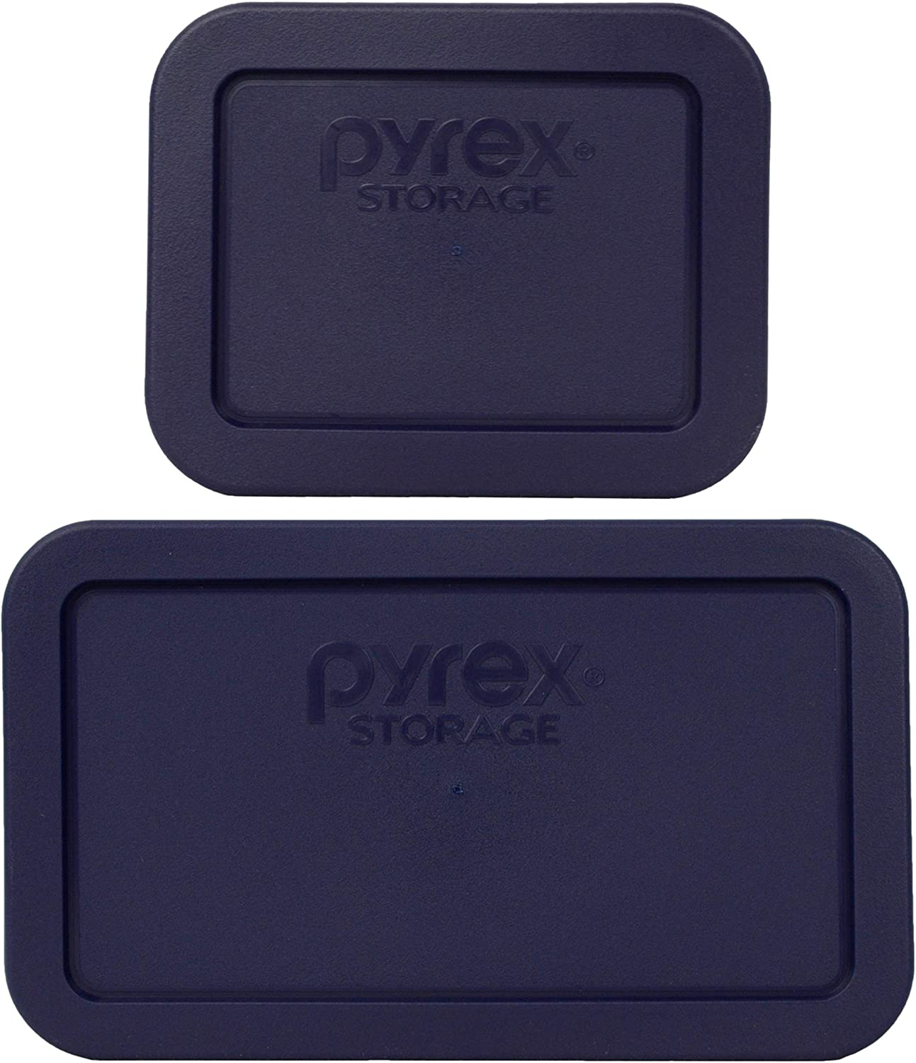 Pyrex 1 7213 1.9 Cup Lids Challenge the lowest price 7214 Cheap mail order shopping 4.8 Rectangle Blue