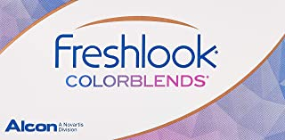 Freshlook Colorblends Brown (-2.75) - 2 Lens Pack