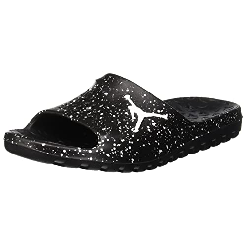 2d621552e3aa Nike Men s Jordan Super Fly Team Slide Black White Size 11 ...