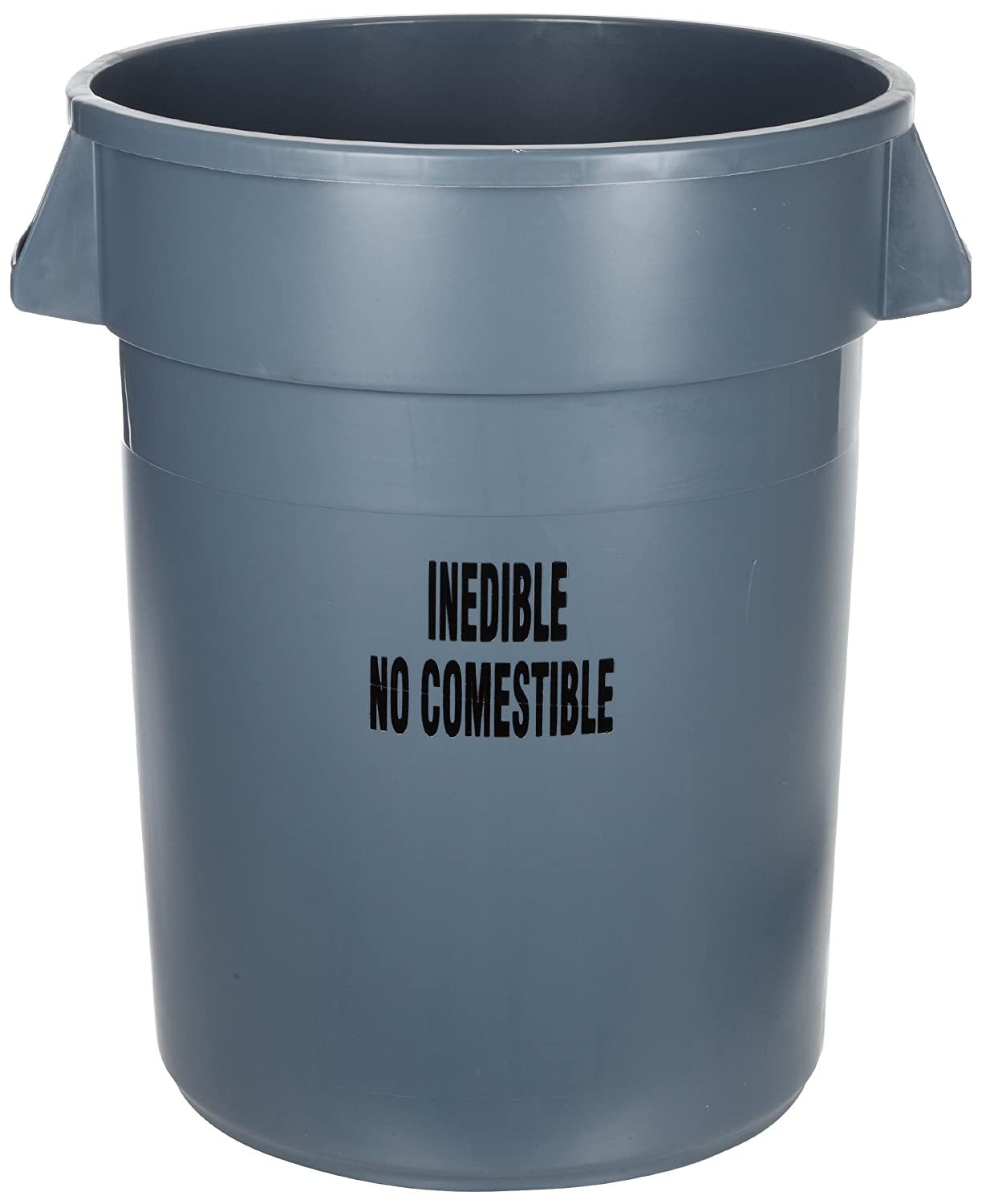 Rubbermaid Commercial FG264356GRAY Brute List price New Orleans Mall witho Plastic Can Trash