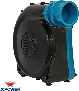 XPOWER BR-272A Indoor/Outdoor Inflatable Blower Fan for Bounce Houses, Blue