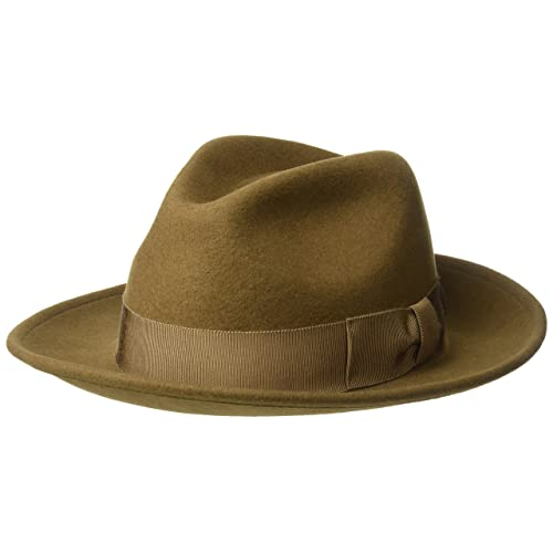 86b918d41b5 Country Gentleman Men s 100% Wool Frederick Wide Brim Fedora Hat