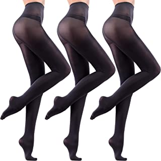 3 Pairs Leamel Soft Feel All Day Comfort Run Resistant 40 Denier Opaque Tights Multipack