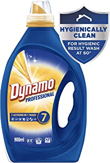 Dynamo Professional with 7 Actions in 1 Wash, Liquid Laundry Detergent, 900ml, 18 Washloads