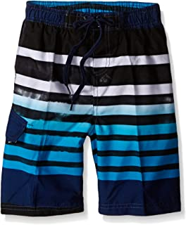 Kanu Surf Boys' Reflection Quick Dry UPF 50+ Beach Swim Trunk