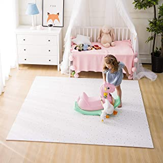 FORSTART Baby Play Mat, 9 Pieces Non-Toxic Foam Play Mat for Infants, Extra Large (60