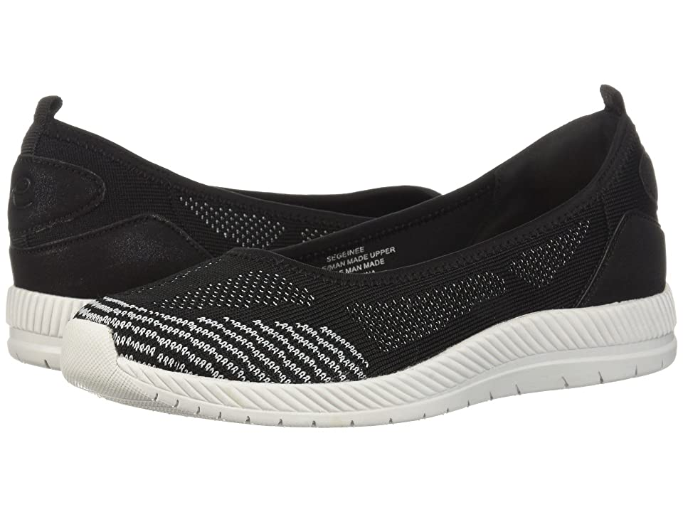 Easy Spirit Geinee (Black/Vapor/Black/Black) Women