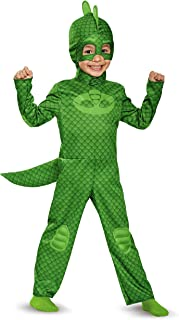 Gekko Classic Toddler PJ Masks Costume, Medium/3T-4T