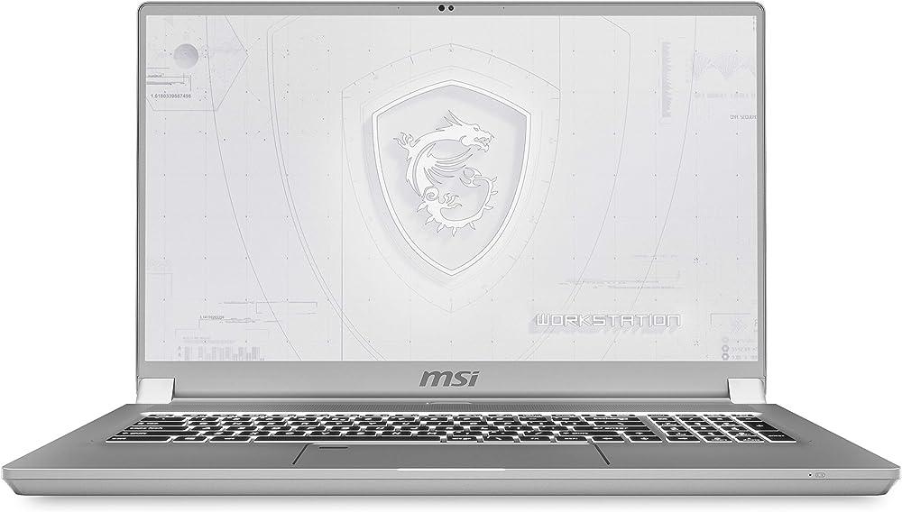 Msi notebook workstation intel i9 nvidia quadro rtx 4000 8gb gddr6 2tb ssd m.2 pcie 64gb ram ddr4 WS75 10TL-634IT