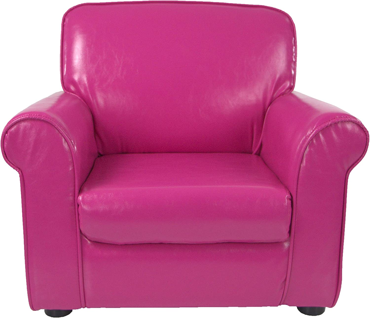 Critter Sitters Pink 21 キャンペーンもお見逃しなく Faux Chair Children's Leather 開店記念セール Mini