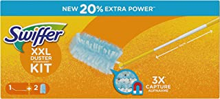 Kit Swiffer Duster XXL (1 manche + 2 recharges)