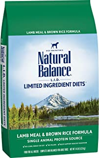 Natural Balance Pet Foods NB LID Chicken&Rice Dog 4.5LB