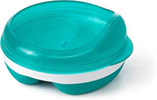 OXO Tot Divided Feeding Dish with Removable Ring, Teal