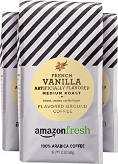 fresh vanilla coffee