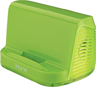 iHome Portable Stereo Speaker System for iPad/iPod/MP3 Players (Green Neon)