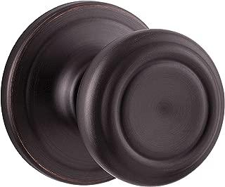 Kwikset Cameron Half-Dummy Knob in Venetian Bronze (Darker black tint)