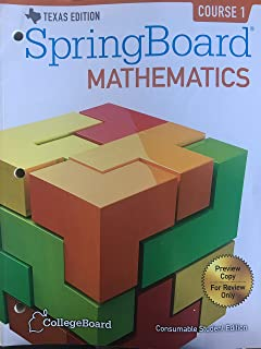 Best springboard math course 1 Reviews