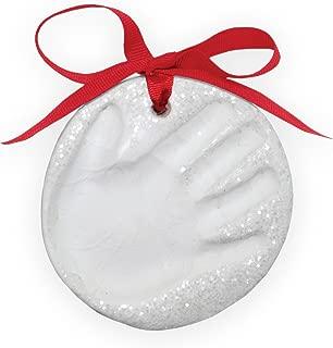 Child to Cherish Glitter Baby Handprint First Christmas Ornament Kit