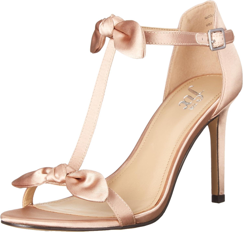 The Fix Women's Nicolette Double Bow T-Strap Sandal
